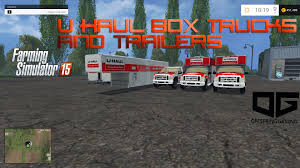 Farming Simulator 2015 Mods- U-Haul Box Truck And Trailer Pack - YouTube 26 Foot U Haul Truck Best Image Kusaboshicom Nylint 1965 Ford Uhaul 1970s Youtube About Mediarelations Pickup Trucks For Sale Awesome At 8 Miles Per Hour Uhual Promposals 2016 My Storymy Story He Rented A Uhaul To Go Mudding Trashy Home Design Uhaul Upack Luxury Rental Using Ramp Load And Unload Moving Insider Tragedy In Lot D Features Yale Alumni Magazine Asheville Offers Free Coin Bank Tour Selfmoving Trucks Parked The Chelsea Neighborhood Of New