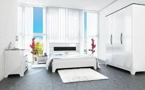 schlafzimmer set kleiderschrank 149cm kommode schwarz weiß