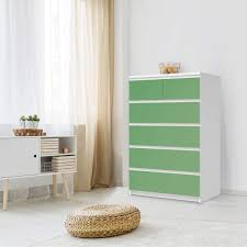 möbel klebefolie ikea malm kommode 6 schubladen hoch design grün light