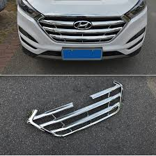 Accessories For Hyundai Tucson 2015 2016 2017 ABS Chrome Front