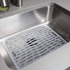 oxo silicone sink mat new kitchen sink protectors gl kitchen design