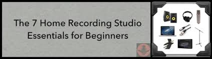 52d Home Recording Studio Essentials