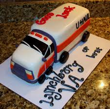 Moving Truck Going Away Cake CakeCentral