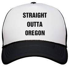 100 Iwx Trucking Amazoncom Straight Outta Oregon Snapback Trucker Hat Clothing