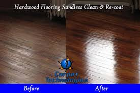 hardwood floor cleaning and re coat