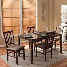 Modern Dining Room Sets by Amazon Com Baxton Studio Tiffany 5 Piece Wood Modern Dining Set