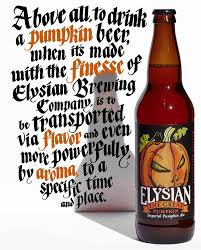 Elysian Night Owl Pumpkin Ale by Think You U0027re Over Pumpkin Spice Try This Beer Wsj