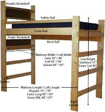 best 25 loft bed diy plans ideas on pinterest bunk bed plans
