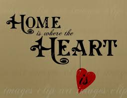 Home Is Where The Heart Clip Art Text Hybrid Vintage And Hand Drawn