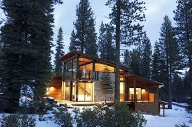 100 Modern Mountain Cabin Cozy And Inviting Modern Mountain Prefab Home In Lake Tahoe