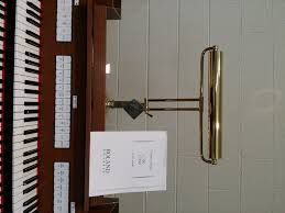 House Of Troy Piano Lamps by Peripherals Buch Organs