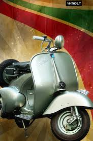 Vespa Vintage Wallpaper