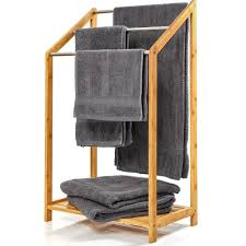 bambuswald handtuchhalter mit 3 streben aus kaufland de