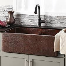 luxury kitchen copper sinks native trails