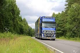 100 Southwest Truck And Trailer SALO FINLAND JULY 19 2015 Dutch Volvo FH Flower Transport