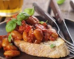 recette de haricots blancs à la sauce tomate
