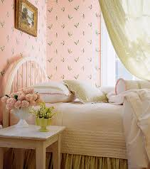 Wonderful Vintage Style Wallpaper For A 40s 50s Or 60s Bedroom