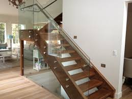Elegant Glass Stair Railing | Latest Door & Stair Design Modern Glass Stair Railing Design Interior Waplag Still In Process Frameless Staircase Balustrade Design To Lishaft Stainless Amazing Staircase Without Handrails Also White Tufted 33 Best Stairs Images On Pinterest And Unique Banister Railings Home By Larizza Popular Single Steel Handrail With Smart Best 25 Stair Railing Ideas Stairs 47 Ideas Staircases Wood Railings Rustic Acero Designed Villa In Madrid I N T E R O S P A C