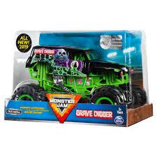 100 Gravedigger Monster Truck Jam Official Grave Digger DieCast Vehicle