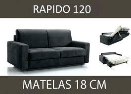 largeur canapé lit en 120 cm de large canape lit 120 canape convertible 120 cm