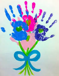 All You Need Is A Large Piece Of Construction Paper And Some Washable Finger Paint Have Your Kids Place Their Hand Prints On The Page