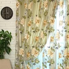 romantische pfingstrose vorhänge für wohnzimmer schlafzimmer beige 100x200 stangentasche wie beschrieben