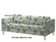 3 Seater Sofa Covers Ikea by Ikea Floral 3 Seater Sofa Furniture Slipcovers Ebay