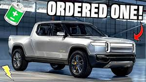 100 Electric Truck For Sale We ORDERED The New Rivian R1T First 100 YouTube
