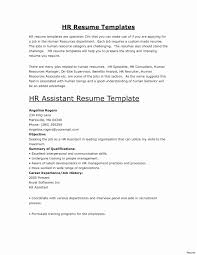 Human Resources Resume Examples Valid Sample No Experience In Jobs At Ideas