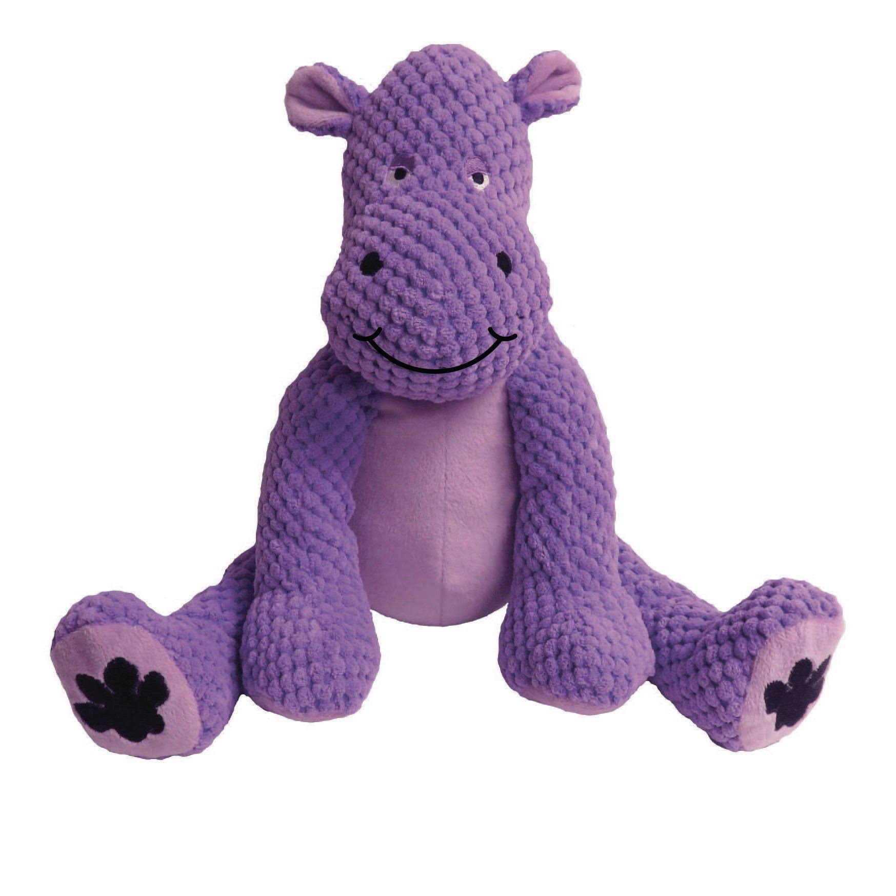 Fab Dog Floppy Hippo Dog Toy, Small