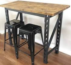 INDUSTRIAL BAR TABLE KITCHEN ISLAND BENCH IN VARIOUS SIZES