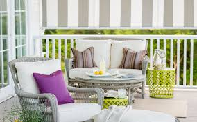 Sunbrella Cushions Will Make Your Porch A Pillow Paradise Stark Mfg Co Awning Canvas Sunbrella Marine Outdoor Fabric Textiles Stripe 479900 Greyblackwhite 46 72018 Shade Collection Seguin And Home Page Residential Fabrics Commercial How To Use Awnings Specifications Central Forest Green Natural Bar 480600