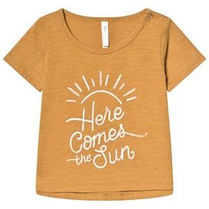 Rylee + Cru Here comes The Sun Basic Tee Saffron