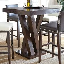 Cool Rustic Bar Height Es E Ideas Tall Kitchen On Super Pub Dining Table