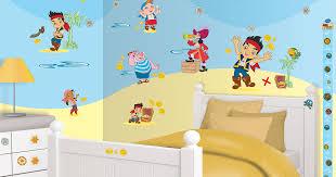 disney jake and the neverland pirates room decor kit 41509