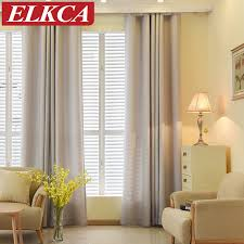 Modern Curtains For Living Room Pictures by Solid Color Faux Linen Velvet Curtains For Living Room Modern