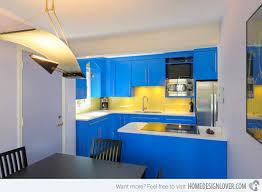 15 Amazingly Cool Blue Kitchen Ideas