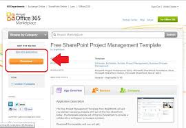 Free Point Project Management Template for fice 365