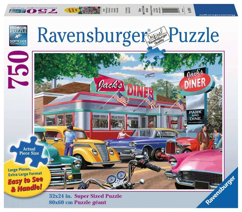 Ravensburger Meet You at Jack's 750 Piece Large Format Puzzle