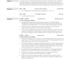 Awesome Collection Of Production Line Worker Resumes Vinodomia With Process Sample Resume For Template 1400