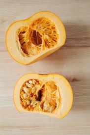 Pumpkin Throwing Up Guacamole by How To Roast Pumpkin Seeds And The Pumpkin Itself Greatist