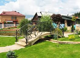 Wrought Iron Garden Bridges -