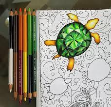 Image Result For Animorphia Turtles TurtlesFishColoringCleverDrawings