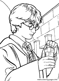 Free Harry Potter Coloring Sheets Pages Printable