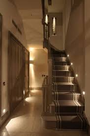 10 ways to the hippest hallway in the stair lighting