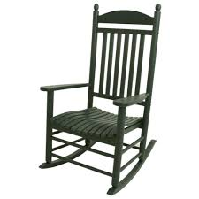 POLYWOOD Jefferson Green Patio Rocker Black Palm Harbor Wicker Rocking Chair Abasi Porch Rocker Unfinished Voyageur Twoperson Adirondack Appalachian Style Chairs Havenside Home Del Mar Acacia Wood And Side Table Set Natural Outdoor Log Lounge Companion For Garden Balcony Patio Backyard Tortuga Jakarta Teak Palmyra Gliders Youll Love In Surfside Unfinished Childrens Rocking Chair Malibuhomesco Caan