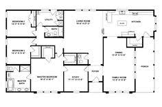 Oakwood Homes Floor Plans Modular by Floorplan Fct466g1 45tfc32664ah Oakwood Homes Of Amarillo