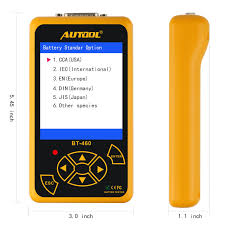 100 Heavy Duty Truck Battery AUTOOLBT460 AUTOOL BT460 AUTOOL BT460 Automotive Tester