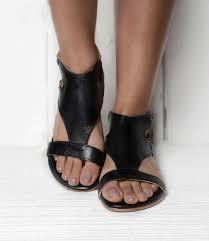 Bed Stu Claire by Soto Black Rustic Sandals Women Bed Stu