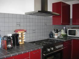 plan de travail cuisine carrelé faïence plan de travail et crédence cuisine